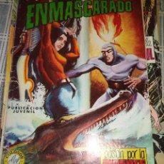 Tebeos: EL HOMBRE ENMASCARADO Nº 23 PASION POR LA MUERTE ED. VALENCIANA COLOSOS DEL COMICS. Lote 39531147