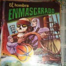 Tebeos: EL HOMBRE ENMASCARADO Nº 6 LA ISLA DE LA CUEVA SECRETA ED. VALENCIANA COLOSOS DEL COMICS. Lote 39531195