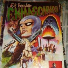 Tebeos: EL HOMBRE ENMASCARADO Nº 1 LOS BUITRES ED. VALENCIANA COLOSOS DEL COMICS. Lote 39531213
