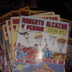 Tebeos: ROBERTO ALCAZAR Y PEDRÍN. EXTRA COLOR SEMI COMPLETA A FALTA DE 11 NÚMEROS.. VALENCIANA. Lote 39738906