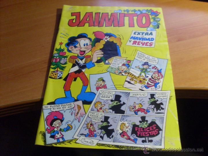 JAIMITO EXTRA NAVIDAD Y REYES 1979 (CAJ4) (Tebeos y Comics - Valenciana - Jaimito)