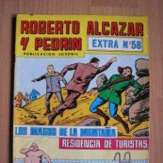 Giornalini: ROBERTO ALCAZAR Y PEDRIN - EXTRA Nº 58 - EDITORA VALENCIANA - POSIBILIDAD ENTREGA EN MANO EN MADRID. Lote 39837381