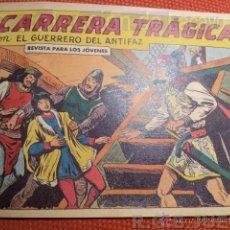 Tebeos: COMIC - EL GUERRERO DEL ANTIFAZ - Nº 366 CARRERA TRAGICA ED.VALENCIANA . Lote 40059502