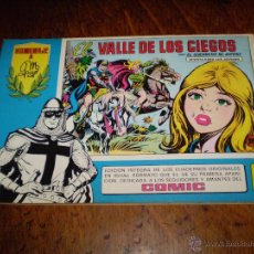Tebeos: EL GUERRERO DEL ANTIFAZ Nº 70 EL VALLE DE LOS CIEGOS -HOMENAJE A MANUEL GAGO EDITORA VALENCIANA 1982. Lote 40077793