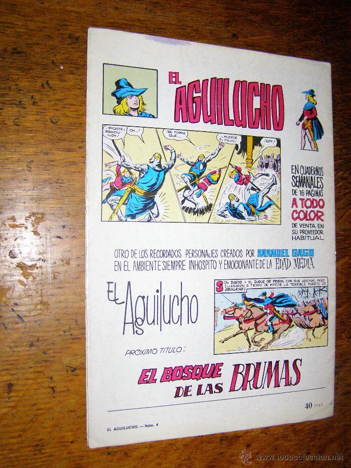 Tebeos: COMIC Selección Aventurera - EL AGUILUCHO - por Manuel Gago , Batalla de Colosos, Nº 4, VALENCIANA - Foto 2 - 40309520