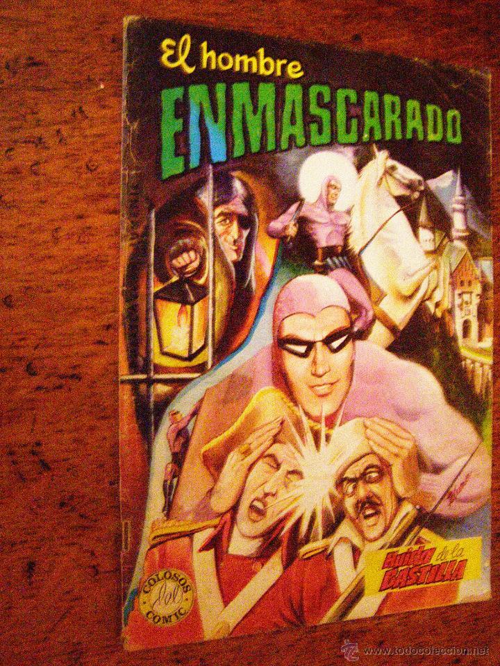 EL HOMBRE ENMASCARADO. COLOSOS DEL COMIC - Nº 5 - EDITORA VALENCIANA - (Tebeos y Comics - Valenciana - Colosos del Comic)