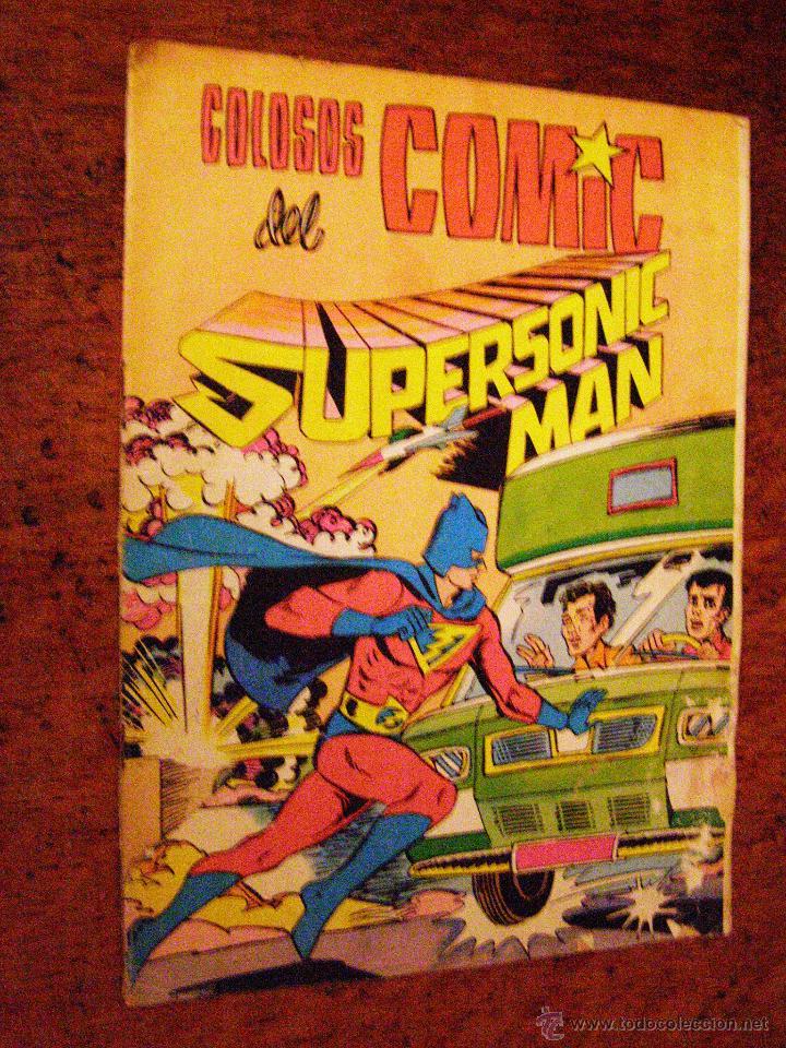 SUPERSONIC MAN Nº 2 - COLOSOS DEL COMIC - VALENCIANA - 1979 SUPERSONIC MAN Nº 2 - COLOSOS DEL COMIC (Tebeos y Comics - Valenciana - Colosos del Comic)