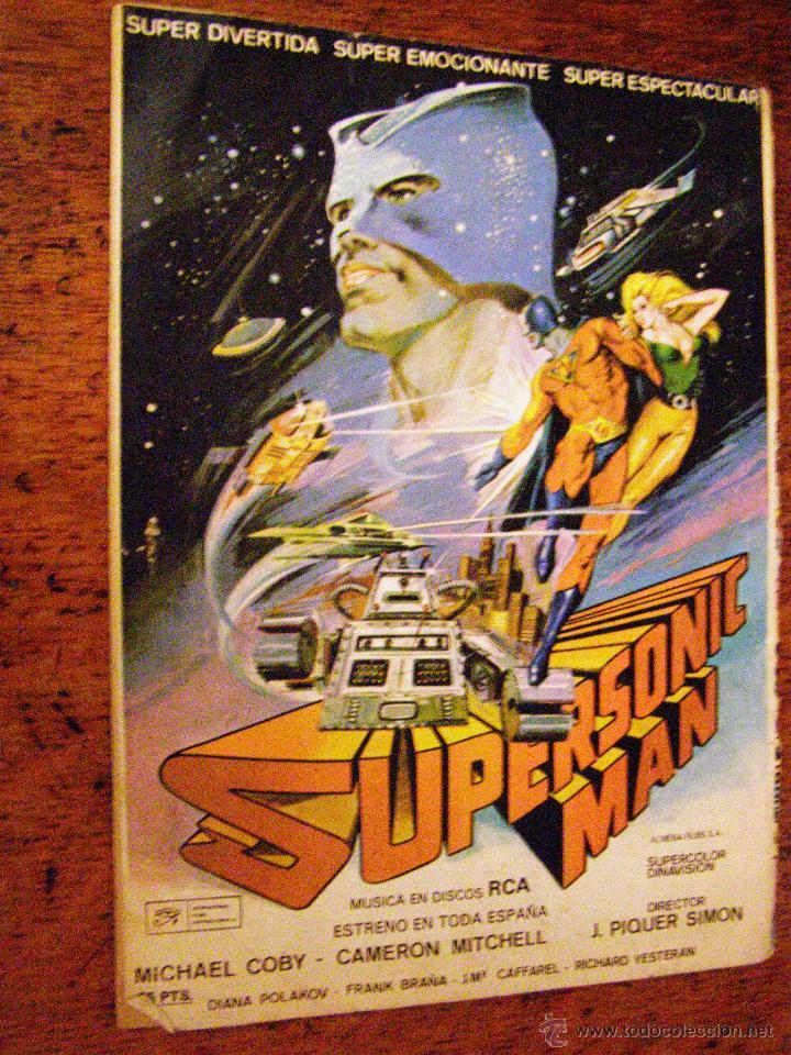Tebeos: SUPERSONIC MAN Nº 2 - COLOSOS DEL COMIC - VALENCIANA - 1979 SUPERSONIC MAN Nº 2 - COLOSOS DEL COMIC - Foto 2 - 40310254