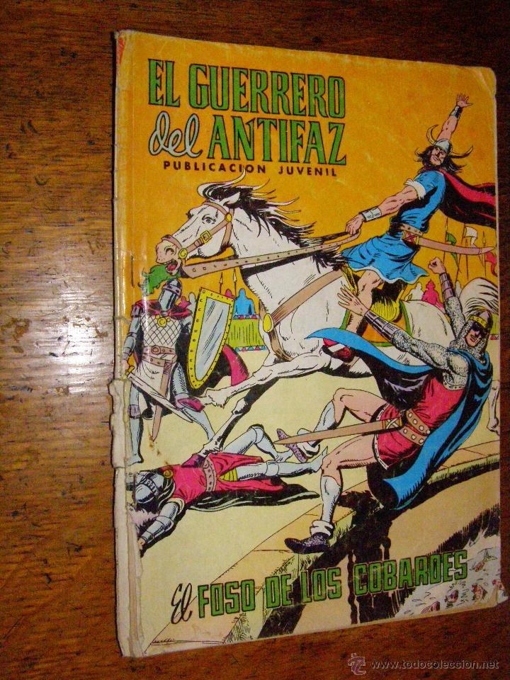 EL GUERRERO DEL ANTIFAZ - Nº 285 - EL FOSO DE LOS COBARDES - (Tebeos y Comics - Valenciana - Guerrero del Antifaz)