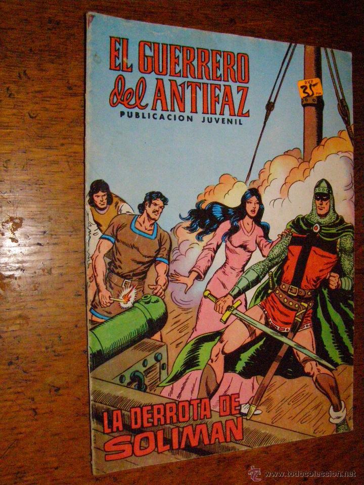 EL GUERRERO DEL ANTIFAZ Nº 112 EDITORIAL VALENCIANA (Tebeos y Comics - Valenciana - Guerrero del Antifaz)