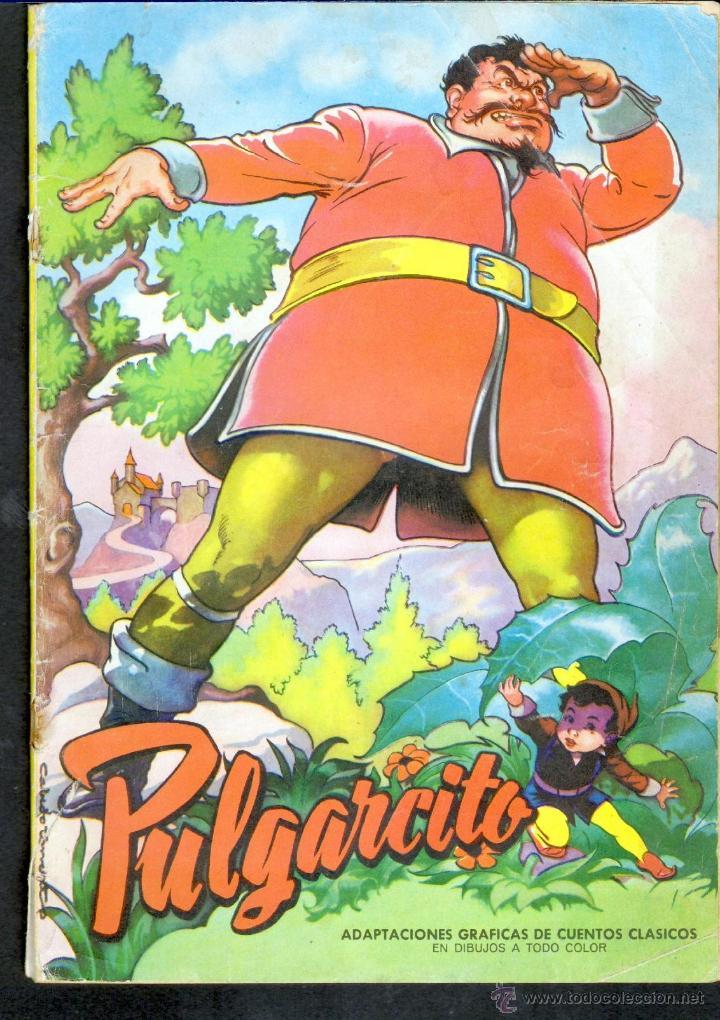 TEBEOS-COMICS GOYO - ADAPTACIONES GRAFICAS CUENTOS CLASICOS - PULGARCITO - 1966 - *BB99 (Tebeos y Comics - Valenciana - Otros)
