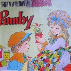 Tebeos: GRAN ALBUM DE JUEGOS PUMBY Nº 1 - VALENCIANA. Lote 40477167