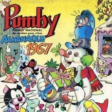 Tebeos: PUMBY, ALMANAQUE 1967. Lote 244966650