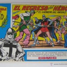 Tebeos: EL GUERRERO DEL ANTIFAZ Nº 42. HOMENAJE A MANUEL GAGO. EDITORA VALENCIANA. Lote 40746583