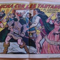 Tebeos: LUCHA CON LOS TÁRTAROS CON EL GUERRERO DEL ANTIFAZ. ORIGINAL Nº 263. Lote 40751699