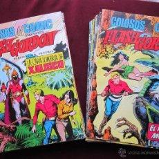 Tebeos: FLASH GORDON. COLOSOS DEL COMIC COMPLETA. 38 EJEMPLARES. EDITORIAL VALENCIANA 1979 TEBENI MBE. Lote 160073934