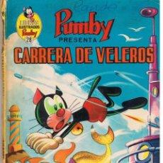 Tebeos: LIBROS ILUSTRADOS PUMBY. NUMERO 28. CARRERA DE VELEROS. VALENCIANA 1973. Lote 40952072