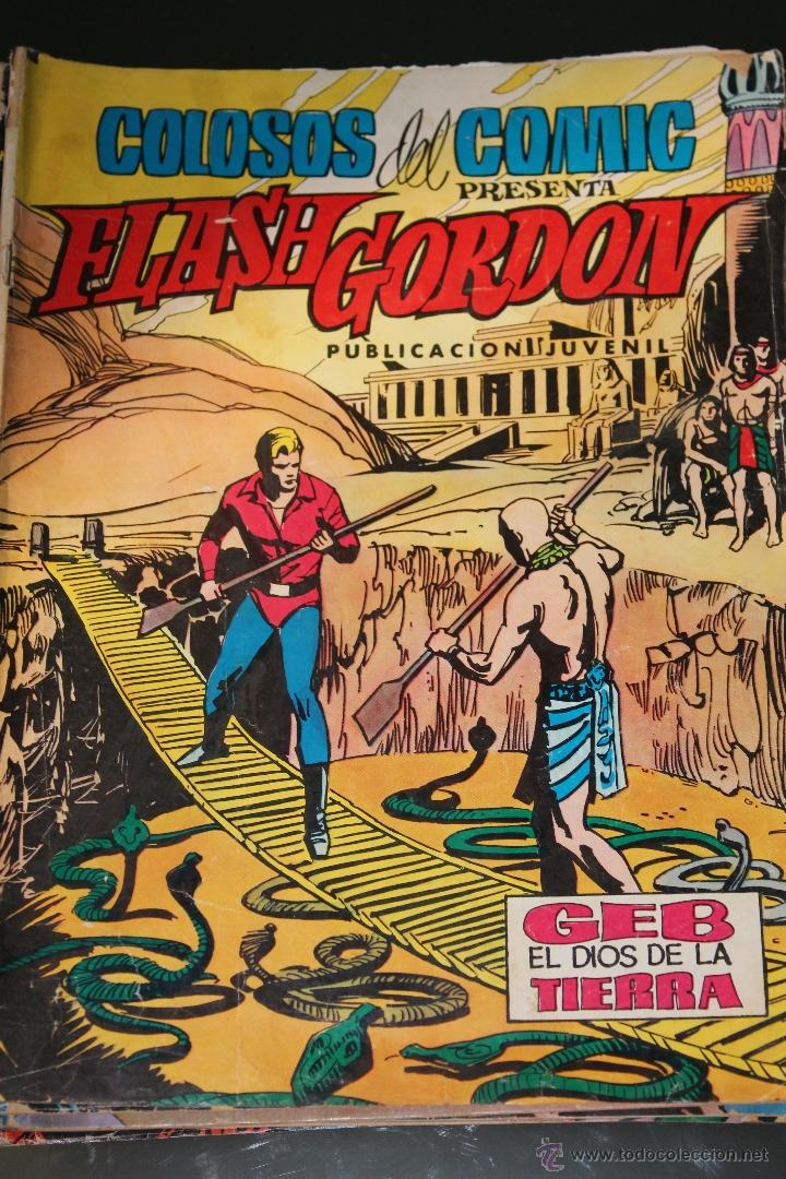 FLASH GORDON 21 COLOSOS DEL COMIC EDITORIAL VALENCIANA (Tebeos y Comics - Valenciana - Colosos del Comic)