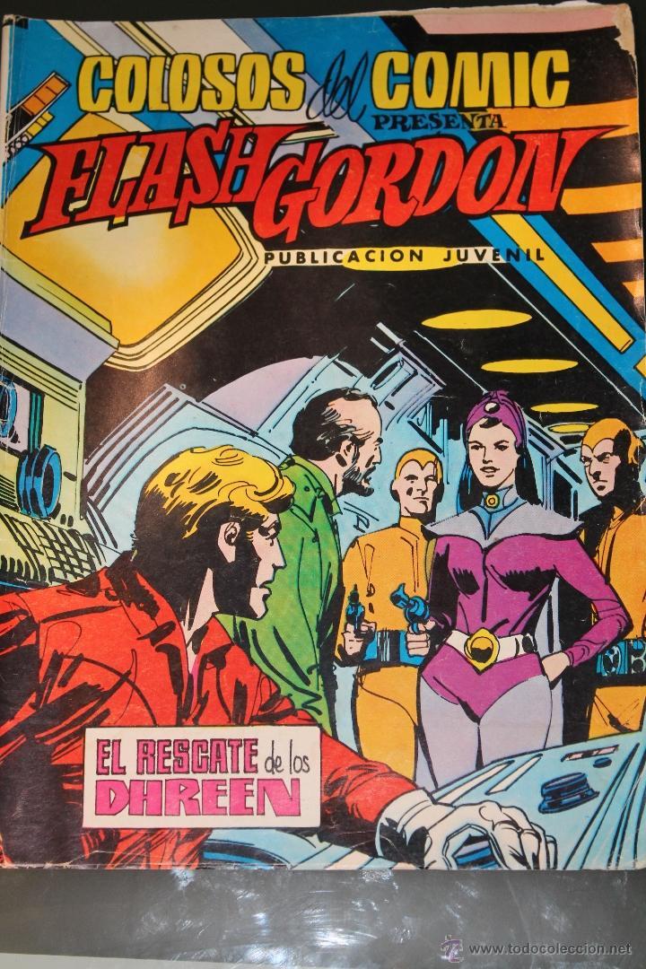 FLASH GORDON 35 COLOSOS DEL COMIC EDITORIAL VALENCIANA (Tebeos y Comics - Valenciana - Colosos del Comic)