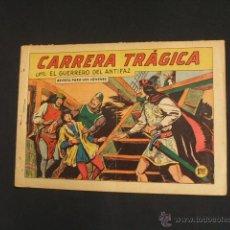 Tebeos: EL GUERRERO DEL ANTIFAZ - Nº 366 - CARRERA TRAGICA - VALENCIANA - ORIGINAL - . Lote 41004384