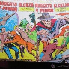 Tebeos: ROBERTO ALCAZAR Y PEDRÍN. COMPLETA. 283 NUMS. EDITORIAL VALENCIANA 1976-1981 TEBENI COMO NUEVOS. Lote 41032254