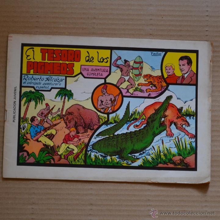 ROBERTO ALCAZAR Y PEDRIN. EL TESORO DE LOS PIGMEOS. Nº 8. VALENCIANA 1981. LITERACOMIC. (Tebeos y Comics - Valenciana - Roberto Alcázar y Pedrín)