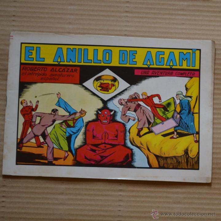 ROBERTO ALCAZAR Y PEDRIN. EL ANILLO DE AGAMI. Nº 26. VALENCIANA 1982. LITERACOMIC (Tebeos y Comics - Valenciana - Roberto Alcázar y Pedrín)
