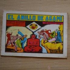 Tebeos: ROBERTO ALCAZAR Y PEDRIN. EL ANILLO DE AGAMI. Nº 26. VALENCIANA 1982. LITERACOMIC. Lote 41286406