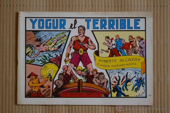 ROBERTO ALCAZAR Y PEDRIN. YOGUR EL TERRIBLE. Nº 28. VALENCIANA 1982. LITERACOMIC (Tebeos y Comics - Valenciana - Roberto Alcázar y Pedrín)