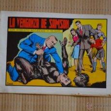 Tebeos: ROBERTO ALCAZAR Y PEDRIN. LA VENGANZA DE SAMSON. Nº 60. VALENCIANA 1982. LITERACOMIC. Lote 41286585