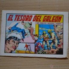 Tebeos: ROBERTO ALCAZAR Y PEDRIN. EL TESORO DEL GALEON. Nº 70. VALENCIANA 1982. LITERACOMIC. Lote 41286672