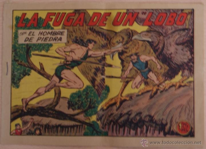 EL HOMBRE DE PIEDRA Nº 178 LA FUGA DE UN LOBO - EDITORIAL VALENCIANA (Tebeos y Comics - Valenciana - Purk, el Hombre de Piedra)