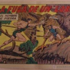 Tebeos: EL HOMBRE DE PIEDRA Nº 178 LA FUGA DE UN LOBO - EDITORIAL VALENCIANA. Lote 41321434
