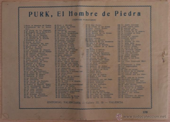 Tebeos: El Hombre de Piedra Nº 178 La Fuga de un Lobo - Editorial Valenciana - Foto 4 - 41321434