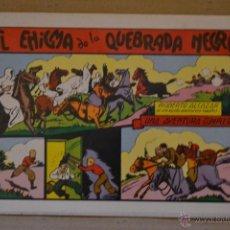 Tebeos: ROBERTO ALCAZAR Y PEDRIN Nº 16. EL ENIGMA DE LA QUEBRADA NEGRA. VALENCIANA 1981. LITERACOMIC.. Lote 41383898