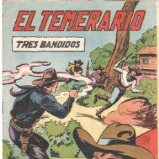 Tebeos: EL TEMERARIO Nº 10 ORIGINAL EDITORIAL VALENCIANA POR MANUEL GAGO. Lote 41410810