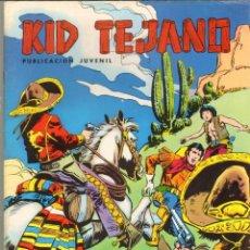 Tebeos: TEBEOS-COMICS CANDY - KID TEJANO - IBAÑEZ - VALENCIANA - Nº 13 *CC99. Lote 41431281