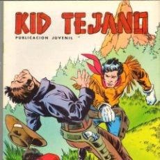 Tebeos: TEBEOS-COMICS CANDY - KID TEJANO - IBAÑEZ - VALENCIANA - Nº 11 *CC99. Lote 41431314