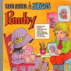 Tebeos: TEBEOS-COMICS CANDY - GRAN ALBUM DE JUEGOS PUMBY - VALENCIANA - Nº 6 - 7 *AA99. Lote 41431687