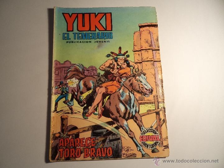 YUKI EL TEMERARIO. Nº 4. VALENCIANA. SELECCION AVENTURERA (Tebeos y Comics - Valenciana - Selección Aventurera)