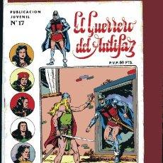 Tebeos: GUERRERO SERIE INEDITA Nº 17 HISTORIETAS DE M.GAGO L.BERMEJO J.GRAU 1973 VALENCIANA. Lote 41509181