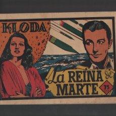Tebeos: SELECCION AVENTURERA - KLODA LA REINA DE MARTE -Nº 39. Lote 41515295