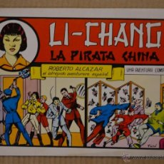 Tebeos: ROBERTO ALCAZAR Y PEDRIN Nº 35. LI - CHANG LA PIRATA CHINA. VALENCIANA 1982. LITERACOMIC. Lote 41588604