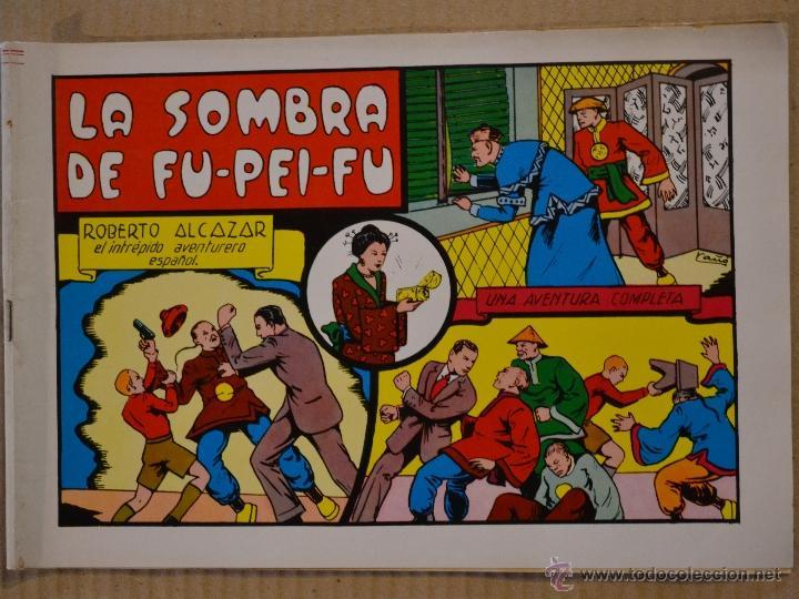 ROBERTO ALCAZAR Y PEDRIN Nº 17. LA SOMBRA DE FU - PEI - FU. VALENCIANA 1981. LITERACOMIC (Tebeos y Comics - Valenciana - Roberto Alcázar y Pedrín)