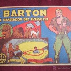 Tebeos: BARTON, EL GLADIADOR DEL ESPACIO Nº 1 GALATEO. EDITORIAL VALENCIANA ORIGINAL 1941. MBE. Lote 41696701