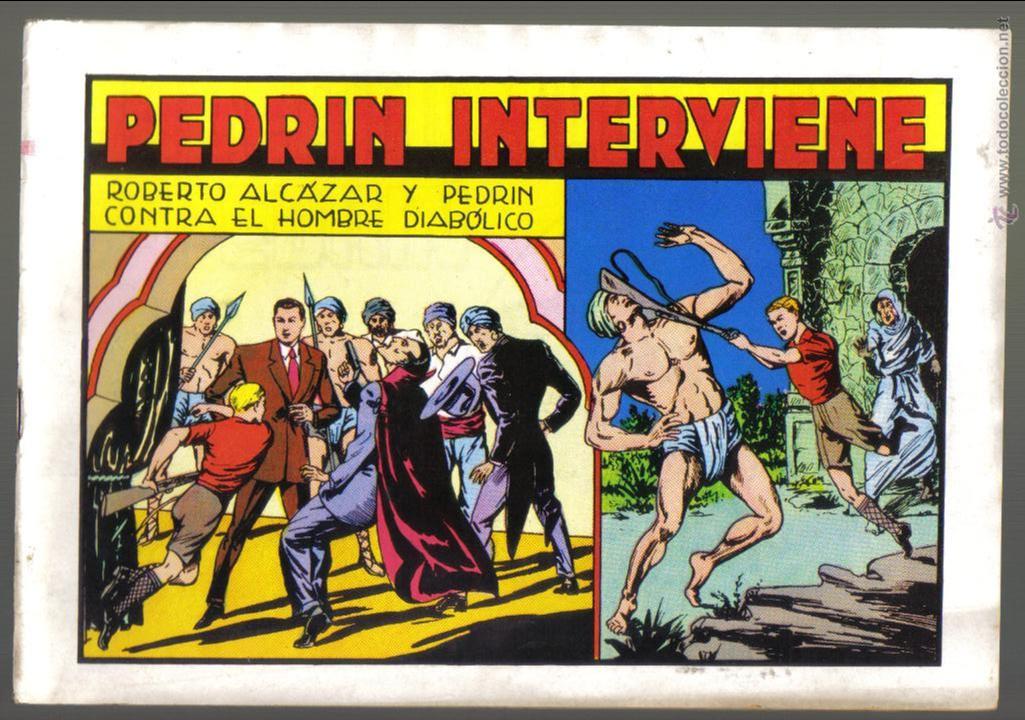 ROBERTO ALCAZAR Y PEDRIN Nº 57. PEDRIN INTERVIENE. VALENCIANA 1982. LITERACOMIC (Tebeos y Comics - Valenciana - Roberto Alcázar y Pedrín)