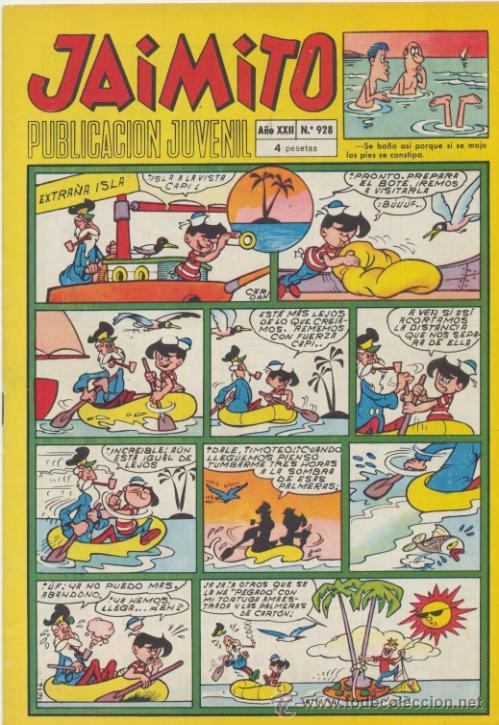 JAIMITO Nº 928. VALENCIANA 1945. (Tebeos y Comics - Valenciana - Jaimito)