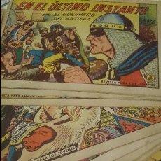 Tebeos: LOTE DE 14 EJEMPLARES GUERRERO DEL ANTIFAZ AÑOS 50. Lote 42336691