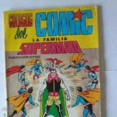 Tebeos: LA FAMILIA SUPERMAN Nº 5- VALENCIANA - BUEN ESTADO. Lote 42474518