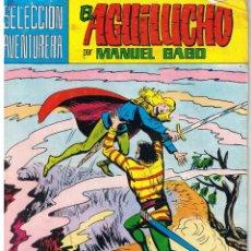 Tebeos: EL AGUILUCHO. NUMERO 8. ENEMIGO IMPLACABLE. REEDICION VALENCIANA 1981. Lote 42534465